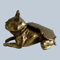 Virginia Souvenir French Bulldog/Boston Terrier Dog Vintage