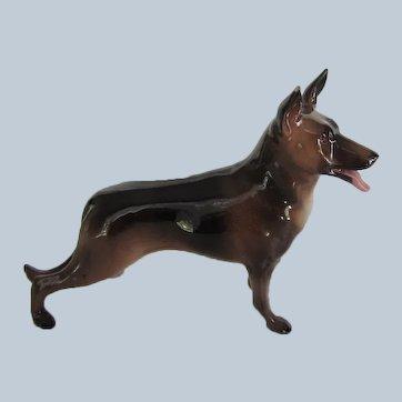 Hagen Renaker Baron DW German Shepherd Dog Vintage