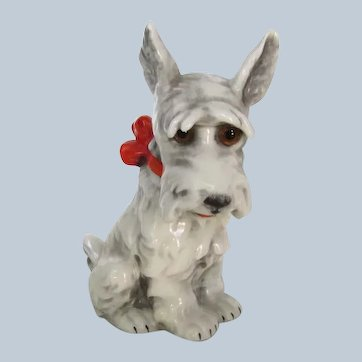 Vintage Goebel Scottish Scotty Terrier Dog Perfume Lamp