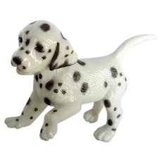 Sweet Dalmatian Puppy Dog By Lenox Vintage