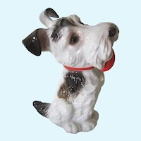 Rosenthal Sitting Scotty/Scottish Terrier Dog Vintage