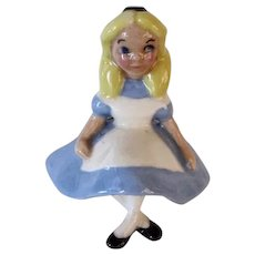 Vintage Hagen Renaker Disney Alice In Wonderland Miniature Rare Find