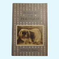 Rare 1973 Quigley Book Of The Pekingese Dog Vintage