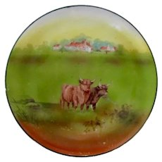 Vintage Royal Bayreuth Trivet Highland Cattle