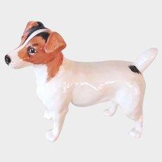 Handsome Beswick Large Jack Russell Dog Vintage