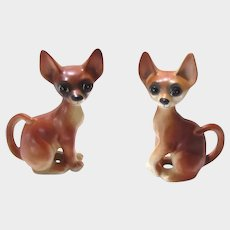 Adorable Pair of Vintage Chihuahua Dogs A583