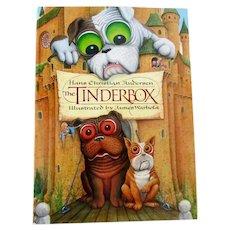 Rare Edition Tinderbox Bulldog/French Bulldog Story Book Vintage