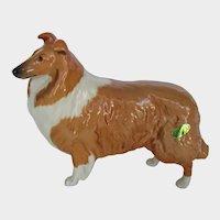 "Beswick Collie Dog Large ""Lochinvar Of Lady Park"" #1791 Vintage"
