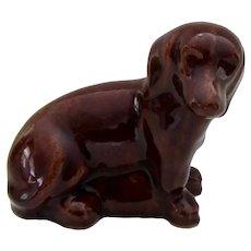 Handsome Sewer Tile Dachshund Dog Antique