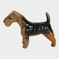 Beswick England Airedale Terrier Dog #2448 Vintage