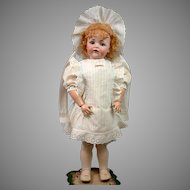 Wonderful Antique Dress & Bonnet for Big Antique Bisque Doll!