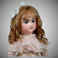 "Incredible 22"" French Bebe Francais by Jumeau Exquisite Display Condition"