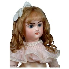 """Incredible 22"""" French Bebe Francais by Jumeau Exquisite Display Condition"""