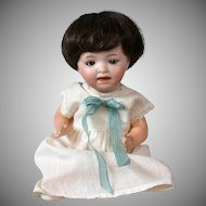 """Adorable Petite 8"""" Morimura Brothers Antique Baby Doll"""