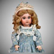 "11""  Jumeau 1907 Size 2 Bebe with Original Blue Sleep Eyes--Adorable"