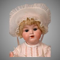 "Darling Armand Marseille 990 Character Antique Baby 16.5"" w/Original Wig!"