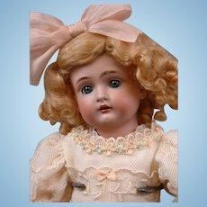 "GORGEOUS 12.5"" Kestner 174 Antique Doll in Delicate Lacey Costume"