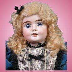 "27"" Bahr & Proschild 224 Character Child Antique Doll circa 1898 in Exquisite Dress!"