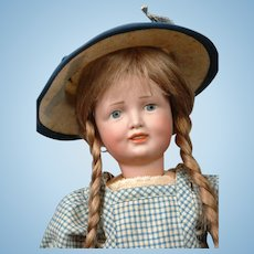 "15"" Super Rare Simon & Halbig 151 Character Child in Cute Antique Costume--Look"