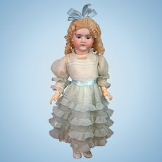 "31"" Handwerck Halbig 109 Antique Bisque German Doll on Mint Body"