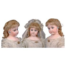 "Incredibly Beautiful  30"" Jumeau Portrait Bride Fashion Doll circa 1885--Simply Awesome!"