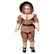 """Antique Armand Marseille 390 Boy in Pilgrim-Style Costume 11"""""""