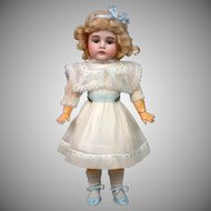 "Kestner 164 Antique Girl 16"" on Marked Fully-Jointed Body"