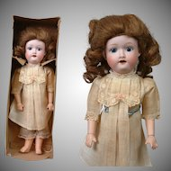 All-Original In-Box Morimura Brothers Antique Child Doll from Japan 12.5""