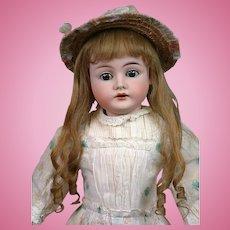 "Karl Hartmann 285 Antique Child Doll 15"" on Near-Mint Body in Original Costume"