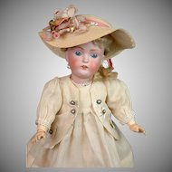 All-Original Kestner 171 Antique Child on Original Body -- Just Fabulous!