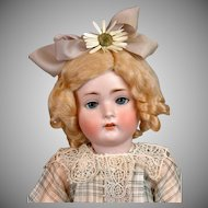 "Hertel & Schwabb 136 Toddler 19.5"" with ""Flapper"" Body & Antique Costume"