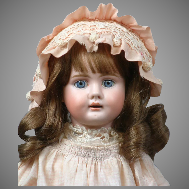 d5cf76e88 18.5 Gorgeous Bahr & Proschild 224 German Antique Doll for the French  Trade--Adorable Presentation!!