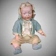 "Kaiser Antique Character Baby 14.5"" K&R 100 on Rare Early Jointed Arm Body"