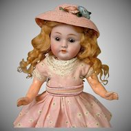 "8"" Classic Cutie Kestner 143 Antique Doll on Her Original 7 Piece Body circa 1900"