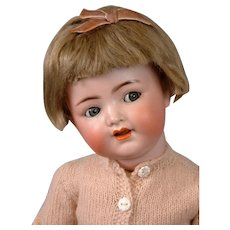 "*Top-Quality* Kammer & Reinhardt 126 ""Flirty"" Toddler 15"" Antique Doll in Original Costume"