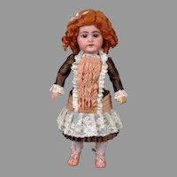 """Delightful Simon & Halbig 1009 14.5"""" in Bebe-Style Costume"""