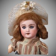 *Bleuette's Little Sister* SFBJ 301 Antique Bisque French Bebe 10""
