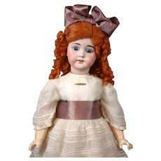 """Early Armand Marseille 1894 Antique Bisque Doll for French Trade 26"""""""