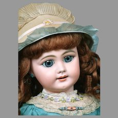 """20.5""""    Very Rare  Simon & Halbig 749 Antique Doll for the French Trade"""