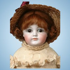 "Kestner 19"" Early Antique Closed-Mouth Doll in Original Antique Costume"