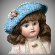 "Adorable 16"" Fleischmann & Bloedel French Bebe Walker Doll circa 1910--Charming!"