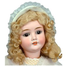 "27"" Captivating Kley & Hahn Walküre/Walkure Antique Doll c 1900"