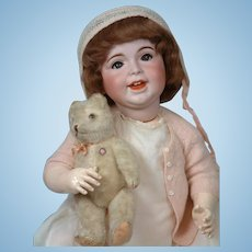 "23"" Jolly Character SFBJ 236 Laughing Jumeau French Baby Girl"
