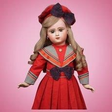 "27"" E J 12 Jumeau Bebe in Fabulous Costume,  Just Striking!!"