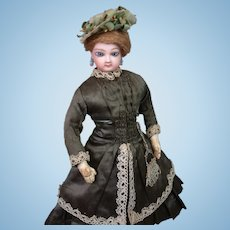 *Angelic* Jumeau Poupee Fashion Lady in Original Enfantine Costume 14""