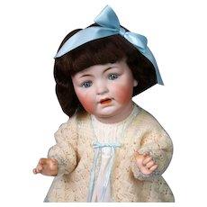 "*The Cherub* George Borgfeldt Character Baby 24"" in Darling Silk Dress"