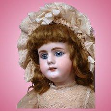 """*Rare* Simon & Halbig 979 Antique Bisque Doll 19"""" on Rare Original Schmitt-Type Early Body"""