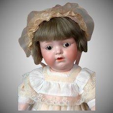 "*The Cutest* Edmund Edelmann Antique Character ""Melitta"" Doll 17.5"""