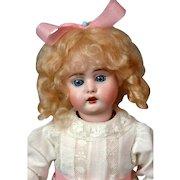 """*Golden Angel* Bahr & Proschild 320 DEP Antique Bisque Doll 14.5"""" in Antique Dress"""