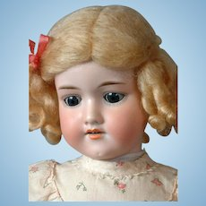 Darling Armand Marseille 390n Antique Bisque Doll 22.5""